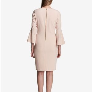 Calvin Klein blush pink dress